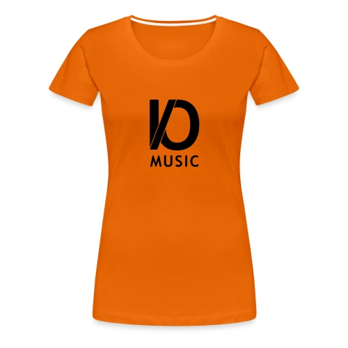 iomusic_black - Women's Premium T-Shirt
