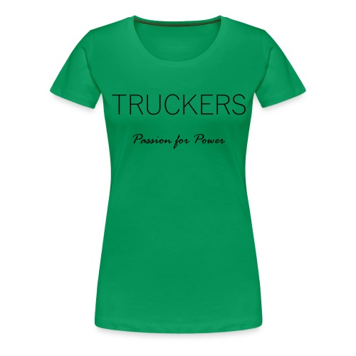 Passion for Power - Women's Premium T-Shirt