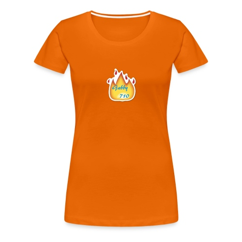 Gabby710 Flame Merch - Women's Premium T-Shirt
