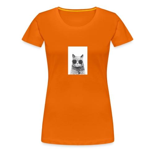 gato coool - Camiseta premium mujer