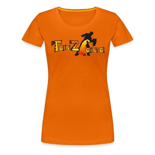 tanzania_dunkel aktuell - Frauen Premium T-Shirt
