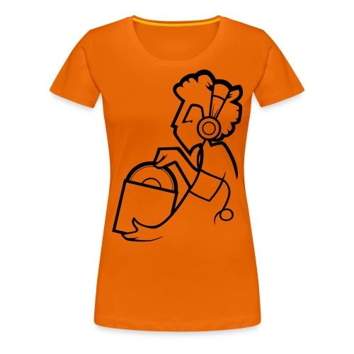Raw Material Character - Women's Premium T-Shirt