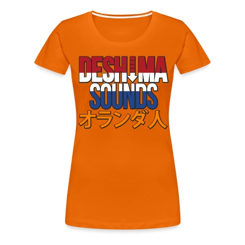 Dutch - Women's Premium T-Shirt