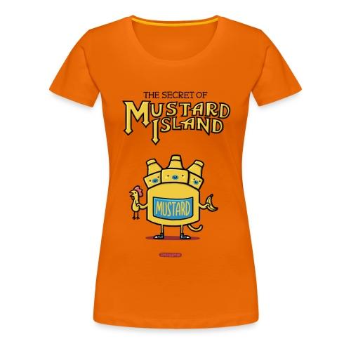 Secret of Mustard Island - Frauen Premium T-Shirt