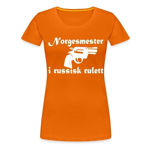 russiskrulett - Premium T-skjorte for kvinner