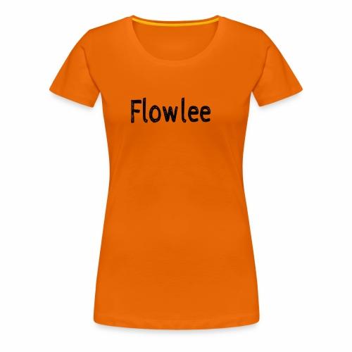 Flowlee - Premium-T-shirt dam