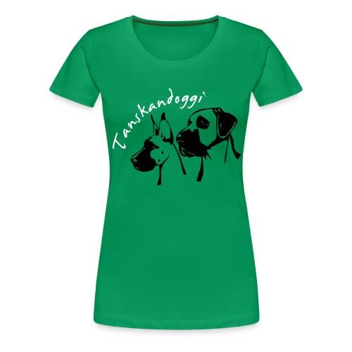 tanskandogit - Naisten premium t-paita