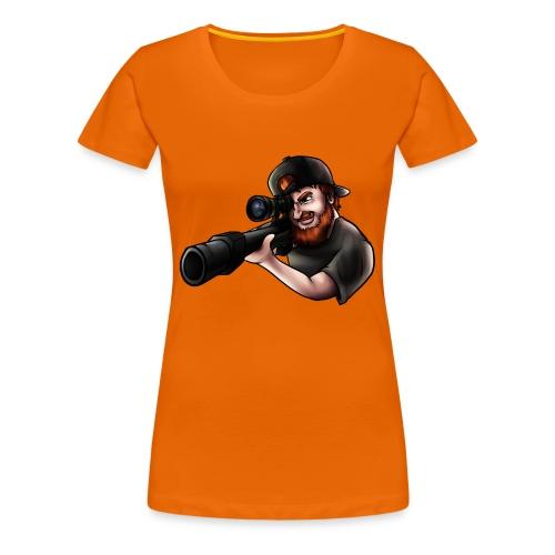 sniper png - Premium-T-shirt dam