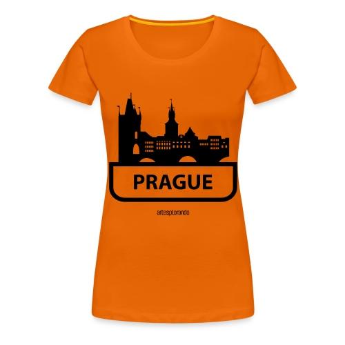Praga - Maglietta Premium da donna