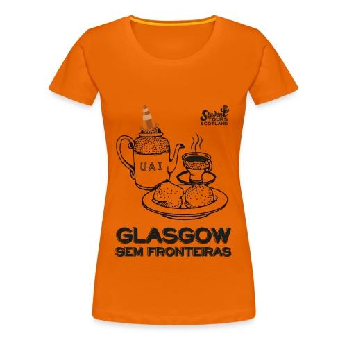 Glasgow Without Borders Brazil Minas Gerais - Women's Premium T-Shirt
