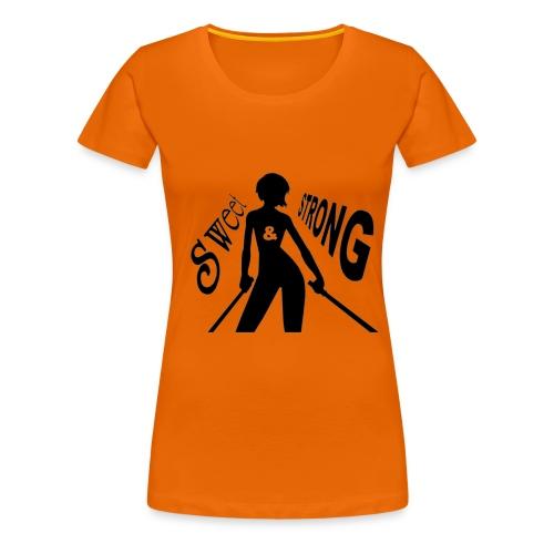 LOGO SWEET & STRONG GIF.gif - T-shirt Premium Femme