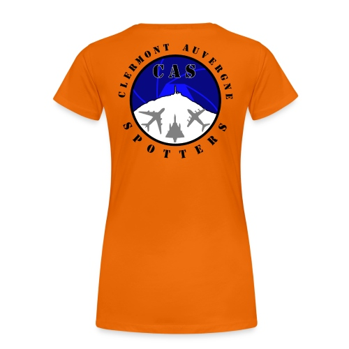 Logo CAS - T-shirt Premium Femme