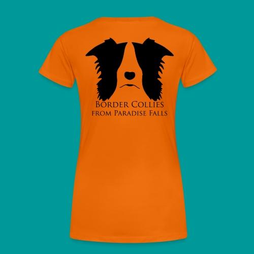 logopf_black1 - Frauen Premium T-Shirt