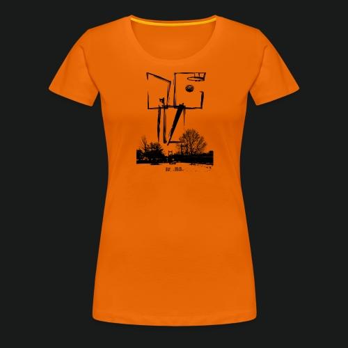 dc10_Logo_black-ok - Frauen Premium T-Shirt