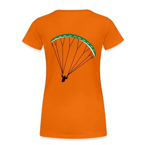 Paraglider Nikita - Women's Premium T-Shirt