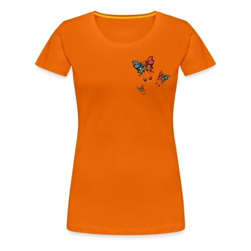Flutter - Frauen Premium T-Shirt