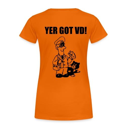 yergotvd - Women's Premium T-Shirt
