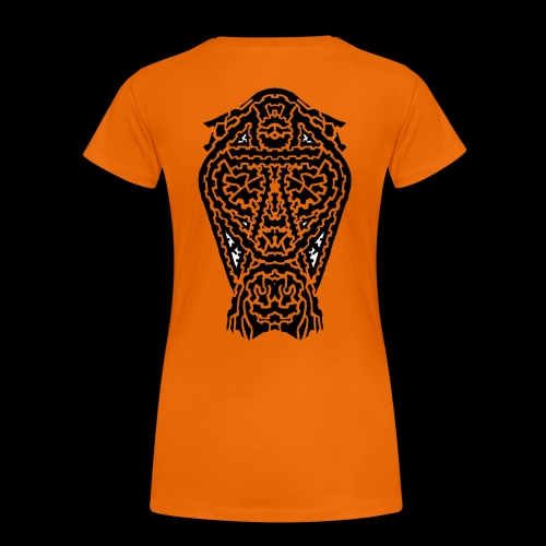 TAROT 5 NOIR - T-shirt Premium Femme