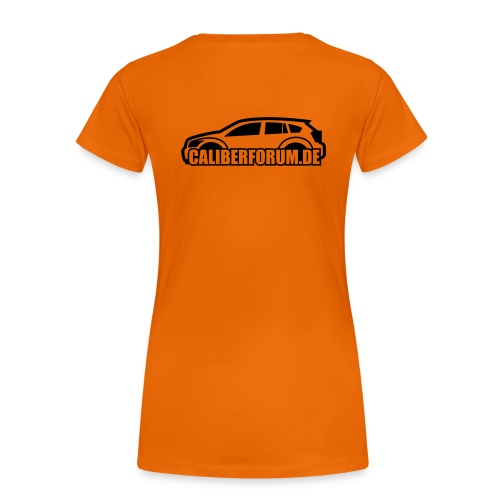 Dunkles Logo - Frauen Premium T-Shirt