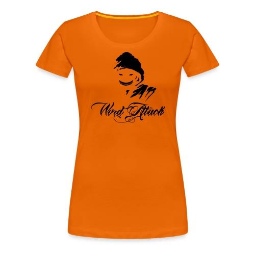 Word Attack - Frauen Premium T-Shirt