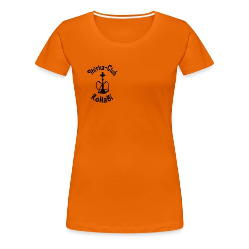 SC RoHaBi Logo Schwarz - Frauen Premium T-Shirt
