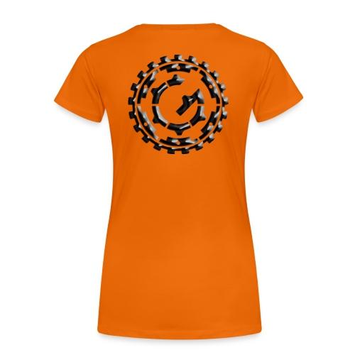 Steffen G. logo Granit - Frauen Premium T-Shirt