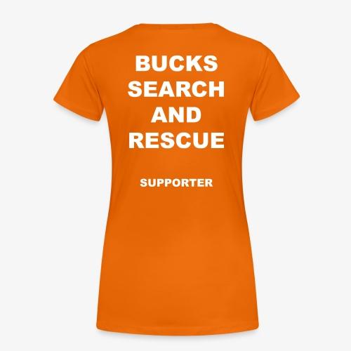 BSAR Supporter Text - Women's Premium T-Shirt