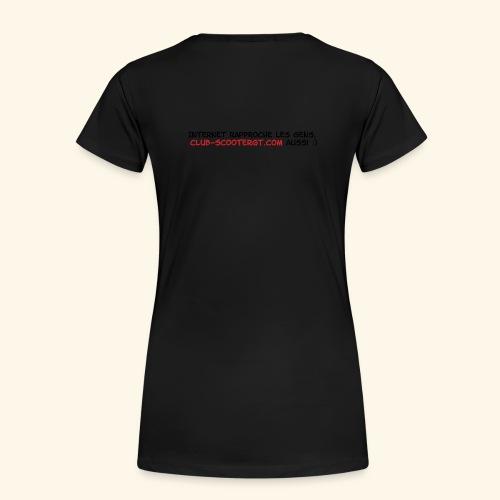 csgt2012 - T-shirt Premium Femme