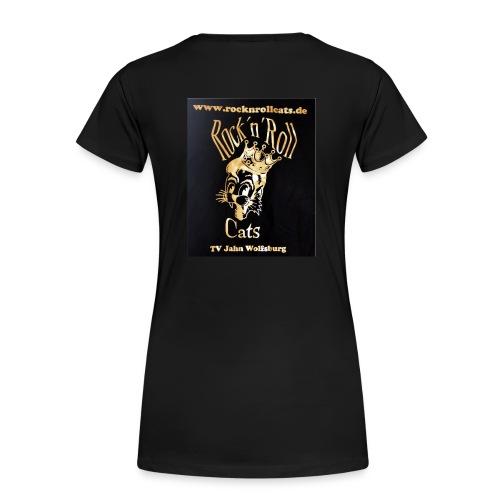 Cats Gold - Frauen Premium T-Shirt