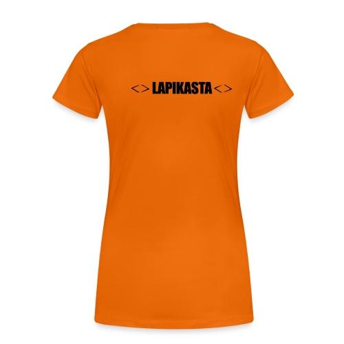lapikasta - Naisten premium t-paita
