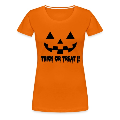 Trick or treat!! - Women's Premium T-Shirt
