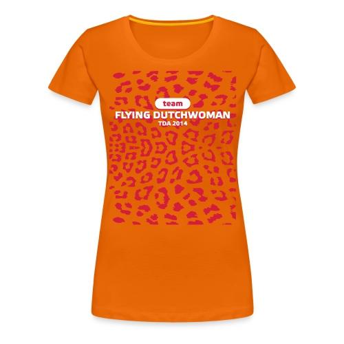 frontprint - Vrouwen Premium T-shirt