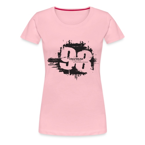 Fagfreak png - Dame premium T-shirt
