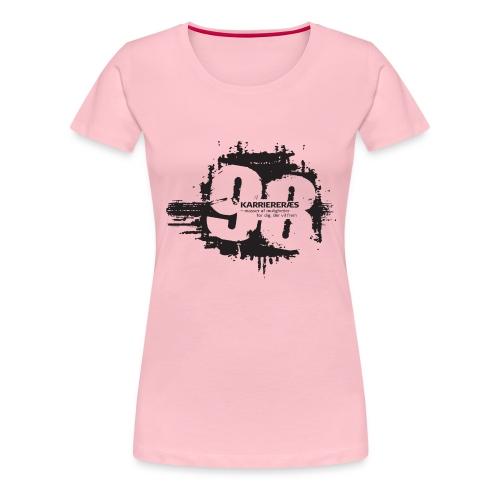 Karriere png - Dame premium T-shirt