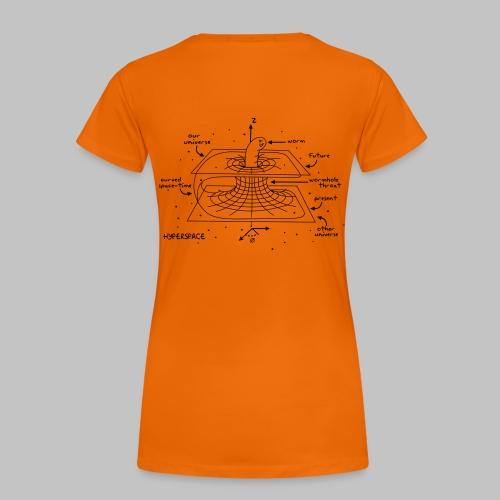 Wormhole - Women's Premium T-Shirt