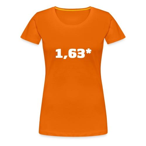 1 63 front - Premium T-skjorte for kvinner