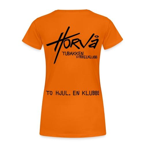 tohjul 2015 - Premium T-skjorte for kvinner