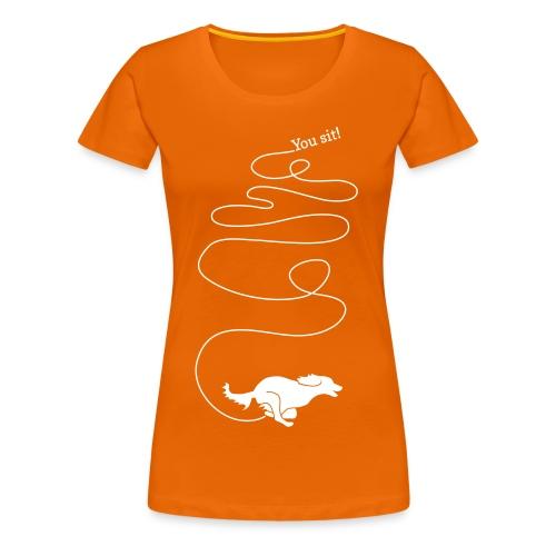 Runaway - Premium-T-shirt dam
