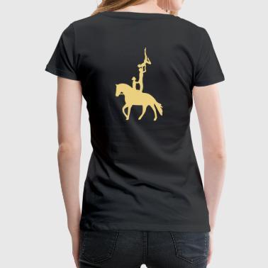 Voltigieren Dreierübung Kür - Frauen Premium T-Shirt