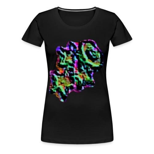 stern, stern, stern und mond - Frauen Premium T-Shirt