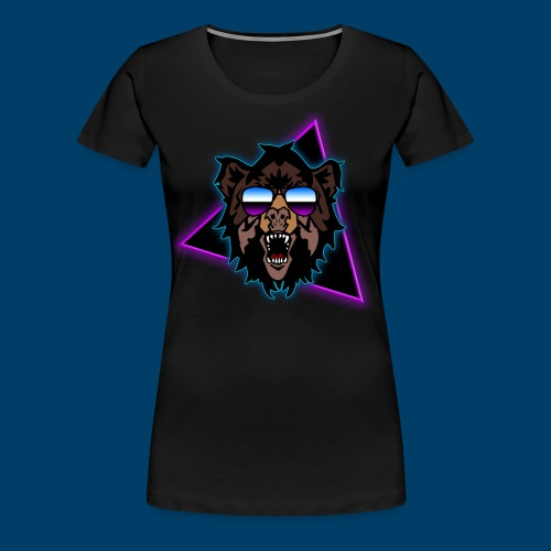 Grizzly 80's - Women's Premium T-Shirt