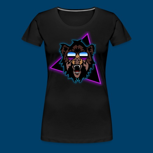 Grizzly 80's - Women's Premium T-Shirt