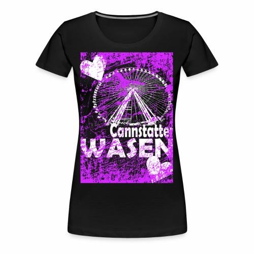 Der Cannstatter Wasen in Stuttgart das Wasen shirt - Frauen Premium T-Shirt