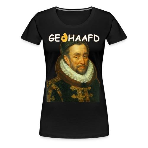 GeHANDhaafd - Vrouwen Premium T-shirt