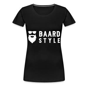 BaardStyle_1-white hoodie - Vrouwen Premium T-shirt