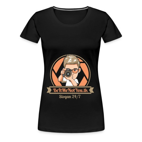 Second Logo - Women's Premium T-Shirt