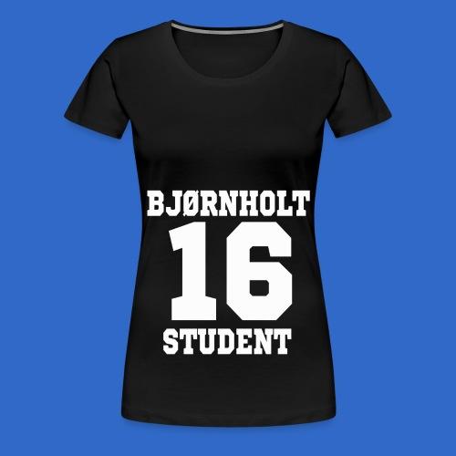 Bjørnholt Hoodie 2016 - Premium T-skjorte for kvinner
