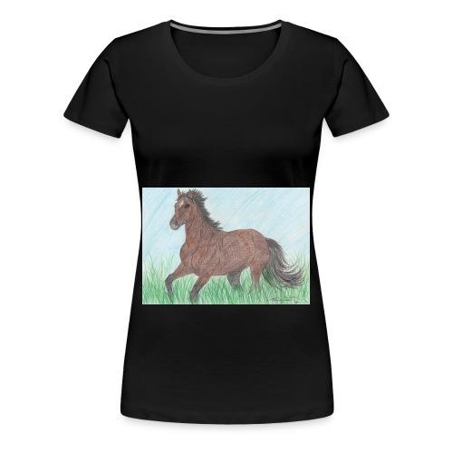 Horse - Maglietta Premium da donna