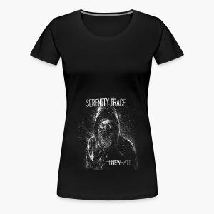 #NewHate Cover art - Premium T-skjorte for kvinner