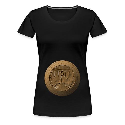 Norröner Coin - Premium-T-shirt dam